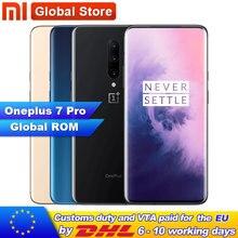 Globale ROM Original Oneplus 7 Pro 8GB 12GB RAM 256GB ROM Smartphone 6,67 Zoll Bildschirm Fingerprint ID NFC 48MP Kamera