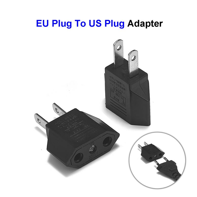 US China Japan Travel Adapter European EU To US Plug In Adaptor Electrical Plug Adapter Converter Sockets AC Charger Outlet