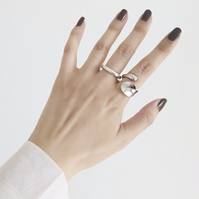 Ring Girl Trendy Japanese and Korean Minimalist Net Red Niche Open Explosion