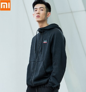 Xiaomi ZENPH man cation Plus velvet autumn and winter Leisure sports coat Hooded Cycling Running Jacket anti-static