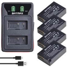 4X LP-E17 LPE17 LP E17 Batterie + LED Intégré Chargeur Double USB pour Canon EOS RP Rebelles SL2, SL3, T6i, T6s, T7i, M3, M5, M6