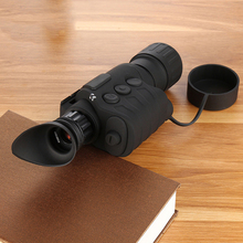 лучшая цена High Definition Second Generation Infrared Low Light Level Night Vision Hunting Patrol Night Monocular Infrared Night Vision