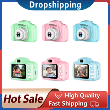 Digital HD 1080P 13 mega pixels Kids Camera Toys 2.0 Inch Color Display Kid Birthday Gift Toys For Children Video Camera Toys image
