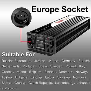 Image 5 - Pure Sine Wave Inverter 3000W New DC 12V 24V 48V to 110V 220V Car  Solar  Power Inverter