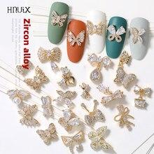 2 шт., бабочки для дизайна ногтей