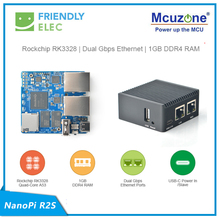 Router Openwrt Nanopi R2s RK3328 1GB Ubuntu Network-Port LEDE Double-Gigabit Mini Portable