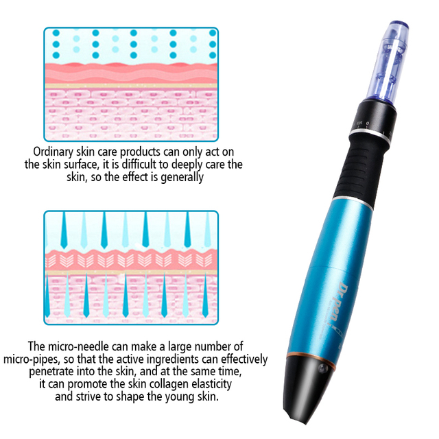 Electric Dr.pen Pen Micro Skin Care Dr.Pen Ultima A1-W Permanente Microblading Tattoo Needles Makeup Machine Eyebrows Eyeliner 5