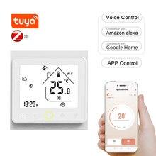 Wi-Fi Smart Thermostat für Boden Temperatur Controller APP Control Kompatibel mit Alexa Google Home Wasser Heizung für Hause