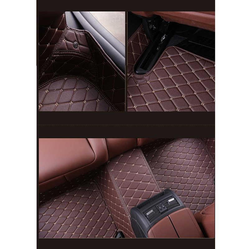 ZRCGL evrensel Araba kat mat Hyundai santa fe için ix25 solaris ix35 accent elantra veloster Genesis Veracruz tucson i30 sonata
