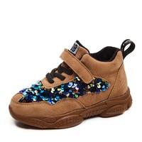 Dzieci Glitter Sneakers maluch buty do biegania dla niemowląt chłopcy dziewczęta buty 2019 nowych dzieci Mesh trampki kolorowe dzieci Desinger w Trampki od Matka i dzieci na