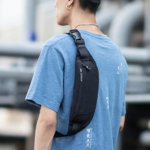 Hk Fanny Pack Black Waterproof Money Belt Bag Men Purse Teenager's Travel Wallet Belt Male Waist Bags Cigarette Case for Phone