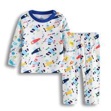 Noworodek zestaw ubrań dla dzieci zima jesień bawełna dla niemowląt chłopcy dziewczęta ubrania 2 szt Dziecięce piżamy Unisex zestawy ubrań dla dzieci tanie tanio CENKIBEYRA COTTON 13-24m CN (pochodzenie) Nowość O-neck Swetry Pełna REGULAR Pasuje prawda na wymiar weź swój normalny rozmiar
