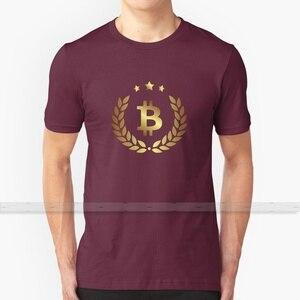 Биткоин для мужчин и женщин футболка Топы летние хлопковые футболки большой размер S-6XL я принимаю Биткоин мы принимаем Биткоин деньги