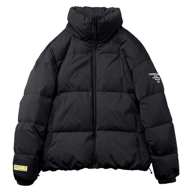 Avec rembourrage en coton Parka dhiver chaude et imperm/éable pour homme En laine /épaisse