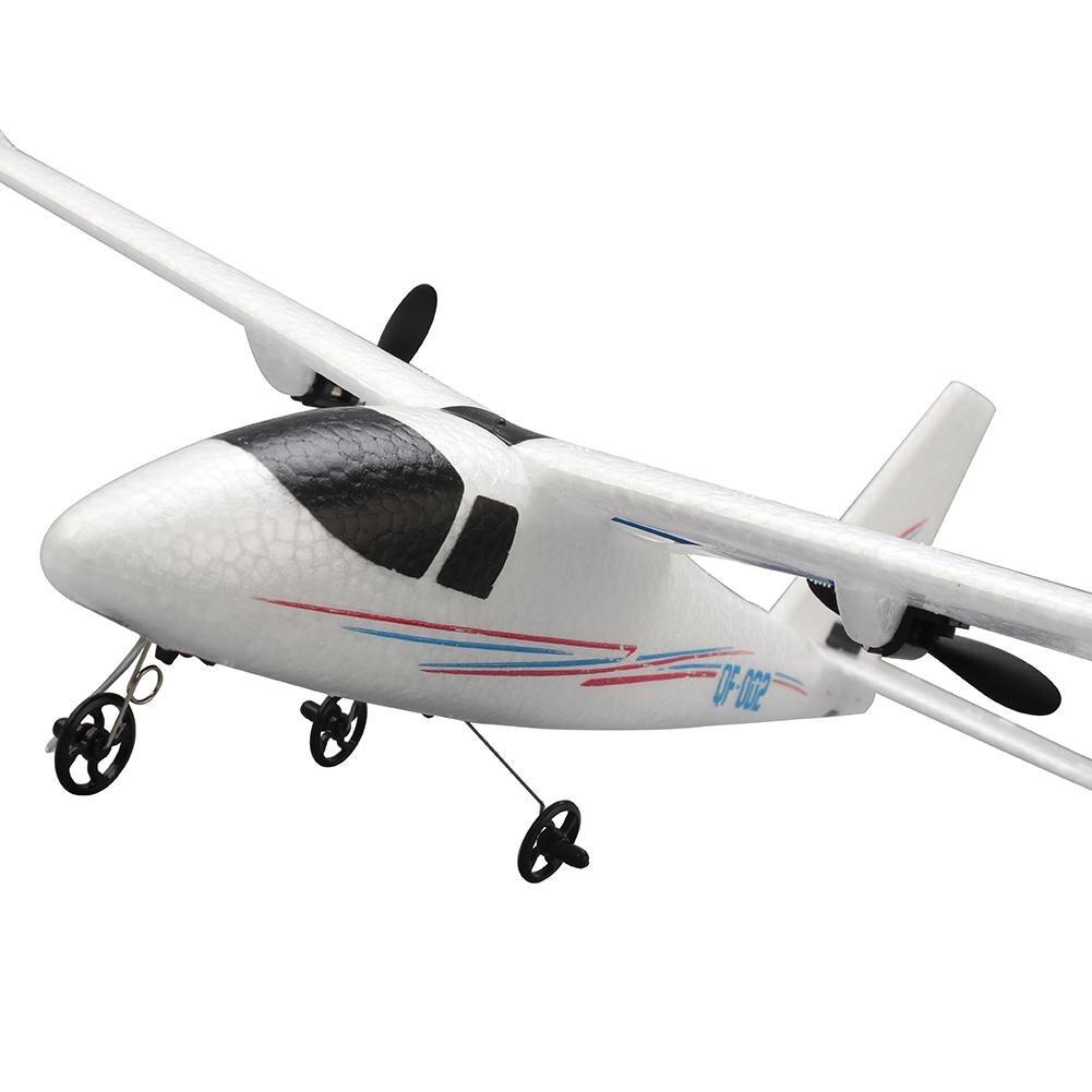 RCtown-pilote d'avion avec télécommande, mousse artisanale électrique RTF EPP, jouet RC à aile fixe pour l'extérieur, QF-002 352mm, envergure 2.4G, 2 canaux 1