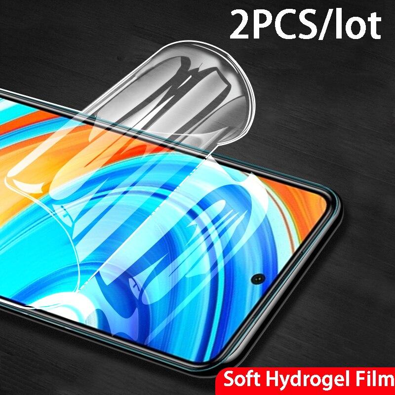 2pc Tela Cheia Protetor sobre para Samsung Galaxy A50 A50s A50c A51 A515F 50 M51 UM 50s M 51 Macia Hidrogel no Filme vidro temperado