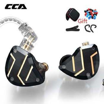 CCA C10 Pro Metal Earphones Wired Headset Gaming Earbuds With Microphone Bass Earbuds Earpiece Earphones Wired Headset for C12 1more e1001 triple driver in ear earphones earbuds earpiece headset with apple ios and android compatible microphone 1more e1001