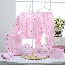 цена на Cartoon cotton baby clothing Baby Gift Set newborn clothes five sets of underwear clothing set