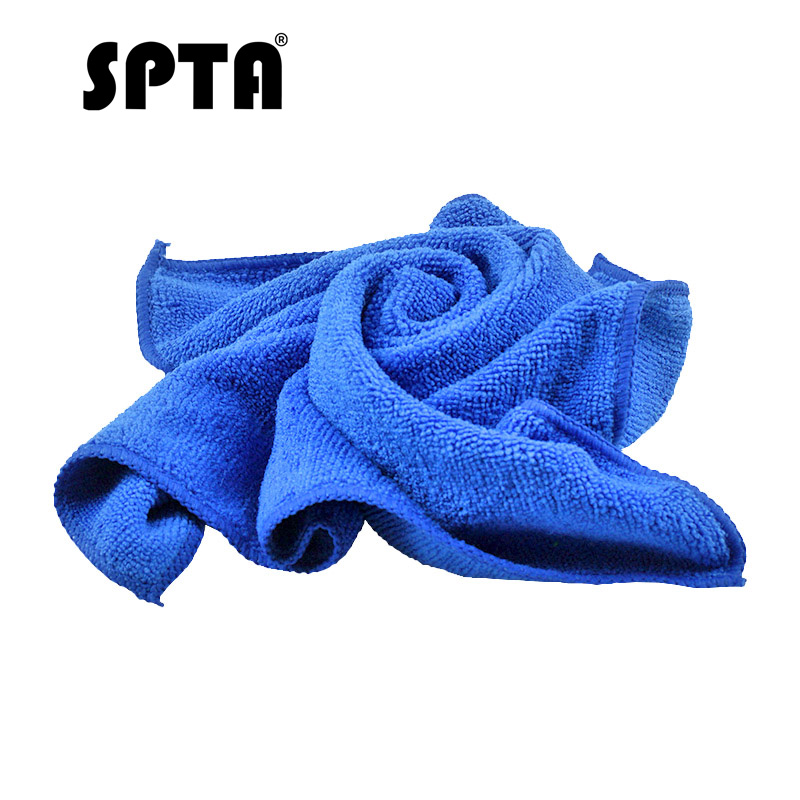 SPTA Soft Squre Absorbent Wash Cloth 40x40 cm Car Care Clean Microfiber Cleaning Hand Towels Durable Multifunction Blue/Green|Sponges, Cloths & Brushes| - AliExpress