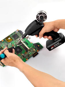NEWACALOX Welding-Gun-Tool Soldering Gun Cordless Automatic Rechargeable DC Li-Ion 12V
