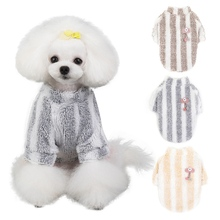 Dogs Jacket Coat Apparel Teddy New Arrival Puppy Knit Sweater Dog Sweaters Soft Fleece Winter Pet Cat Costume For Yorkshire