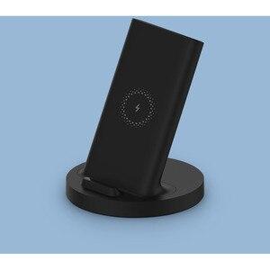 Image 2 - Xiaomi dikey kablosuz şarj 20W Max flaş şarj Qi uyumlu çoklu güvenli standı yatay Mi 9 (20W) MIX 2S
