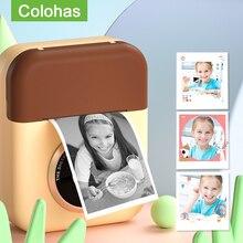 Children's Instantane Camera Toys For Kids Girls Video Digital Polaroid Camera Instant Print Camera Birthday Gift For Kids