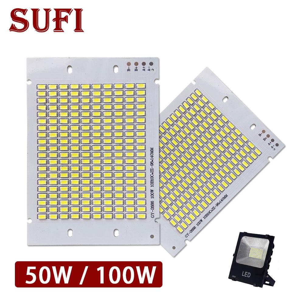 Lâmpada led smd5730 10w 20 30 50 fonte de iluminação led branco quente branco puro led placa pcb para diy 10 20 30 50 ao ar livre projector