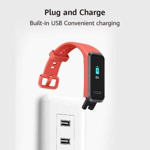 Image 4 - Huawei Band 4 Dây Đeo Thông Minh Phiên Bản Toàn Cầu Thông Minh Nhịp Tim Theo Dõi Sức Khỏe Đồng Hồ Mới Phải Đối Mặt Với USB Cắm Sạc Nước chứng Minh