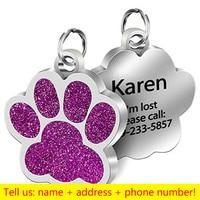 Dog paw-Purple