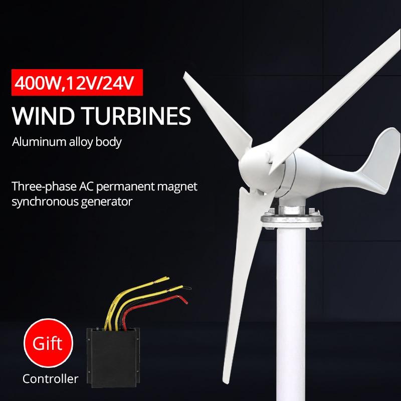 400w 12v 24v novo gerador de turbinas eolicas para casa barco fazenda acampamento streetlight engenharia aplicacao
