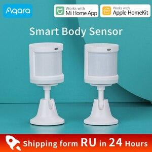 Image 1 - Aqara人体センサーxiaomiスマートホームボディモーションセンサーzigbee無線接続miホームアプリで動作