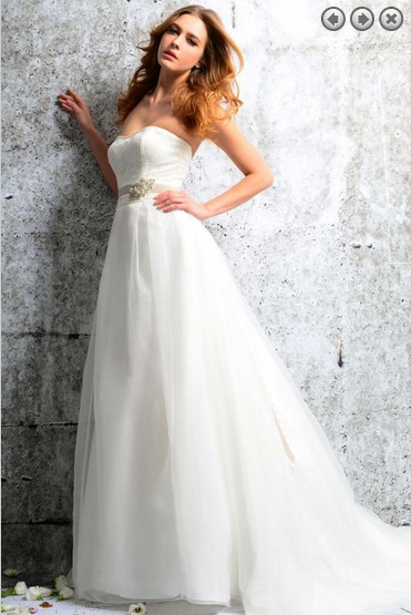 Free Shipping 2016 Fashion Princess Vestidos White Long Bridal Formal Gowns Plus Size Beach Wedding Dresses With Removable Belt
