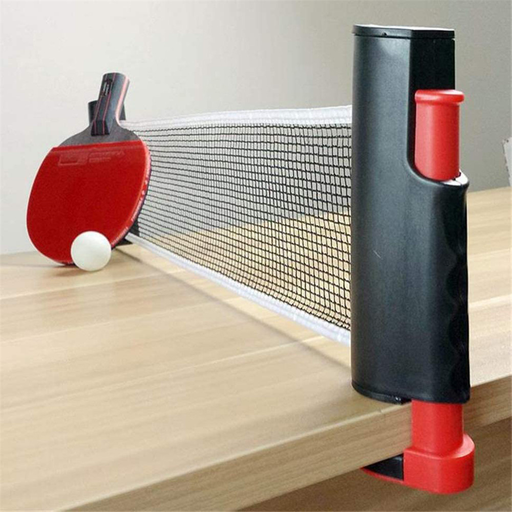 Table Tennis Net Games Retractable Table Tennis Ping Pong Portable Net Kit Replacement Set Table Tennis Training Sports Game Net