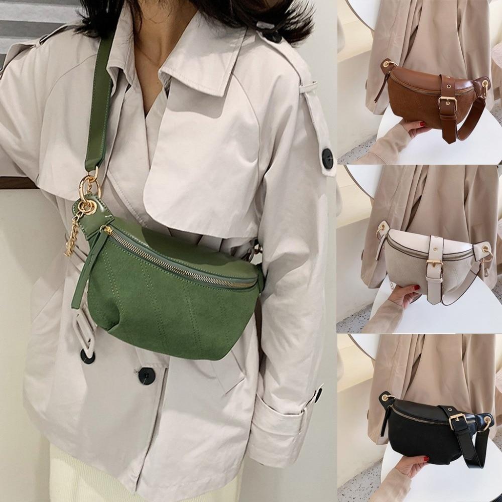Fashion Chain Chest Bag Luxury Handbags Women Bags Designer New Brand Belt Bags Women Waist Pack Shoulder Chest Messenger Bag