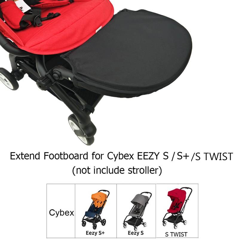 Baby Stroller Accessories Seat Extend Board Adjustable Footboard Extension 30cm Footrest For Cybex Eezy S S Stwist Baby Pram Strollers Accessories Aliexpress