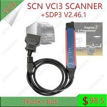 Năm 2021 SCN V2.46.1 SDP3 VCI3 Máy Quét WIFI SDP 3 VCI 3 Xe Tải Xe Buýt Diagnos & Công Cụ Lập Trình Không Dây Chẩn Đoán