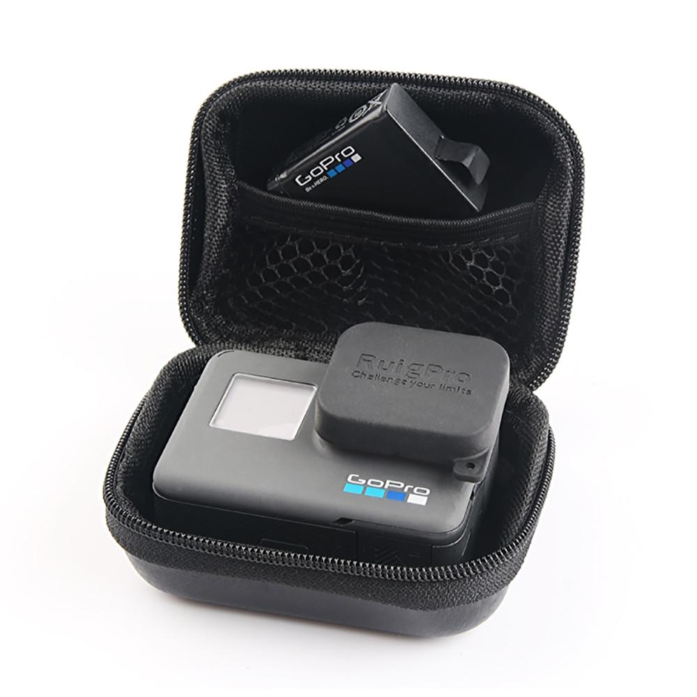 Portable Mini Box Xiaoyi Bag Sport Camera waterproof Case For XiaoYi 4K Gopro Hero 9 8 7 6 5 4 SJCAM Sj4000 EKEN H9 Accessories 3