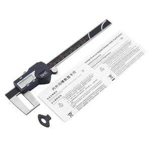 SHAHE 0 150mm/0 200mm/0 300mm 0.01mm Single Outer Groove Cursor Bluetooth Caliper Flat Head Outer Groove Digital Caliper|Calipers|Tools -