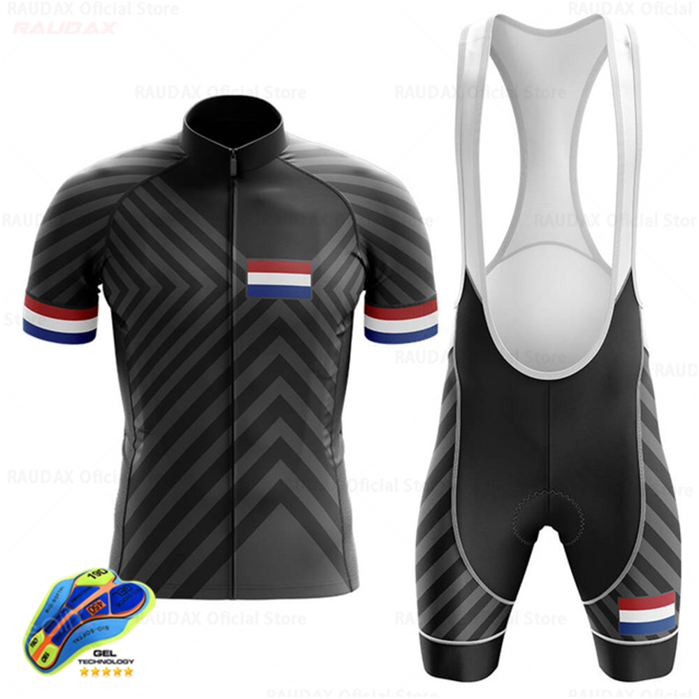 Cycling Jersey Set 2020 Netherlands Men Cycling Clothing MTB Bicycle Clothing Bike Wear Clothes Maillot Ropa Ciclismo Triathlon