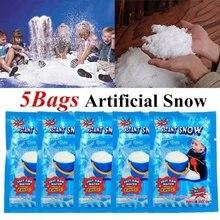 Breloques en argile polymère pour enfant, jouet anti-stress, pour modeler la neige et la montagne