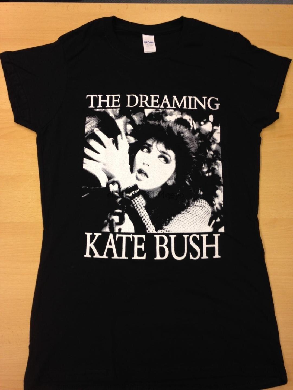 Ladies Womens Kate Bush T Shirt On Black