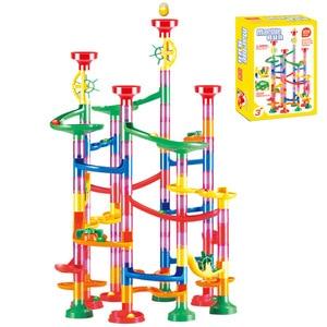 80/105pcs Set kids DIY Constru