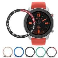 Anillo protector de borde exterior de Metal para reloj Xiaomi Amazfit GTR, funda de taquímetro de escala de reloj Amazfit GTR, marco de 47mm