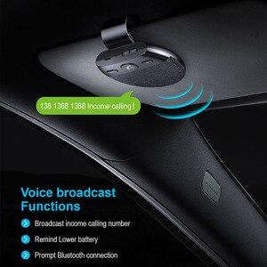 Image 4 - Phaany zestaw samochodowy Bluetooth bezprzewodowy zestaw głośnomówiący odbiornik Audio samochodowy odtwarzacz MP3 z obsługą mikrofonu 2 telefon podłączony