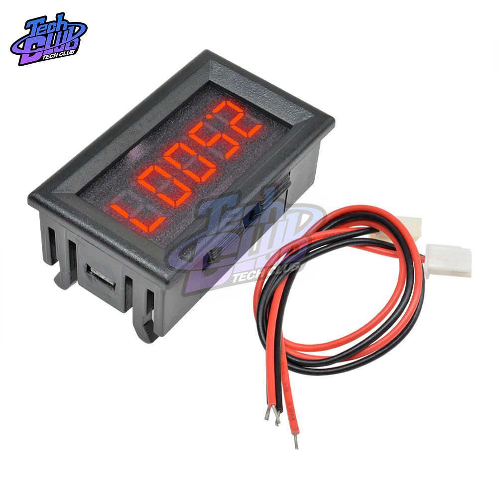 Dc 0- 100V Mini Digitale Voltmeter 10A Panel Amp Volt Voltage Current Meter Tester Detector Led Display Auto auto Rood Blauw Groen