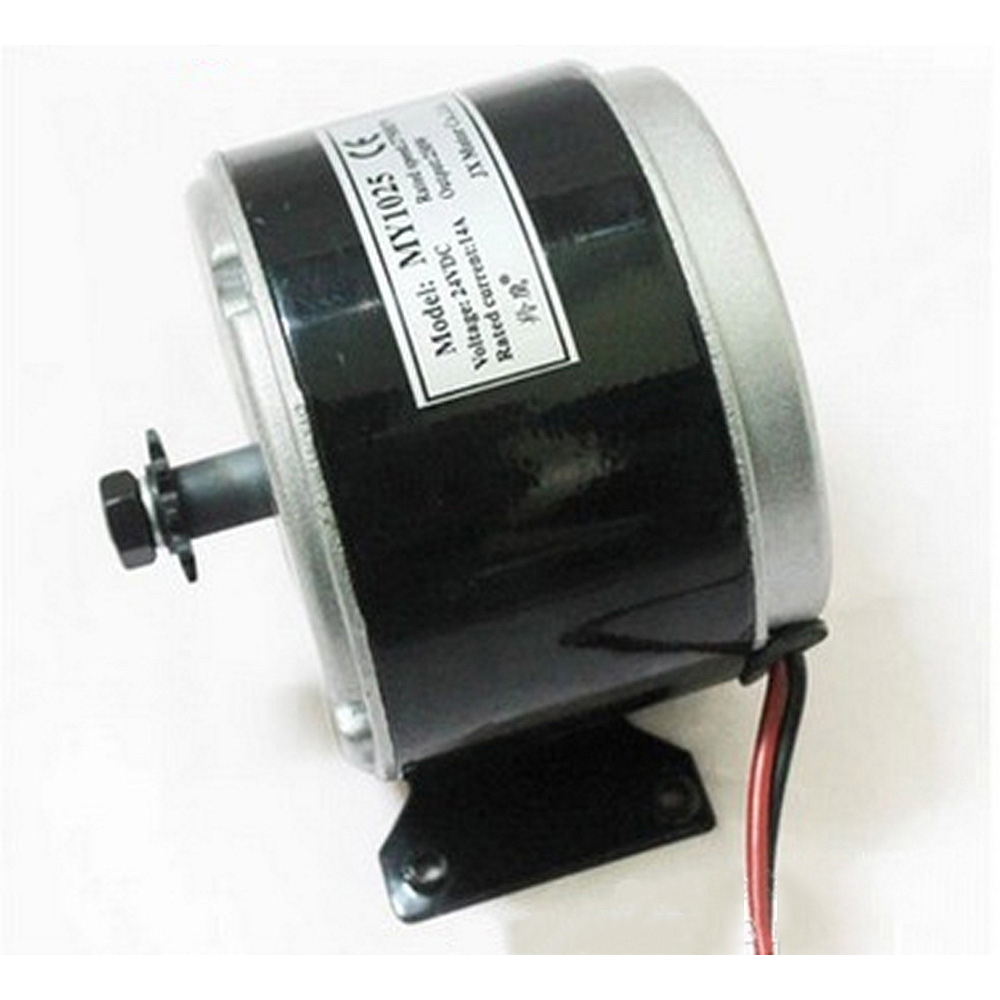 24V DC 250W High Speed Electric Bicycle Electric Motor MY1025 With Brushed Electric Motor Electric Bike Kit