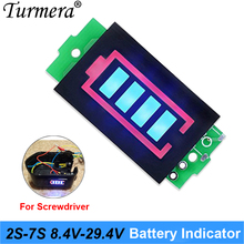 Battery indicator 5S 21V Series Lithium Battery Capacity Module for shura screwdriver Turmera NEW Lithium Battery Capacity Modul