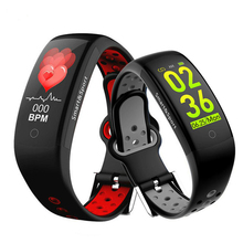 Q6S Smart Bracelet Blood Pressure Heart Rate Monitor Smartband Wristband Waterproof Sports Fitness Colors 3D Dynamic Watch r1 dynamic heart rate monitor sports smart bracelet brown