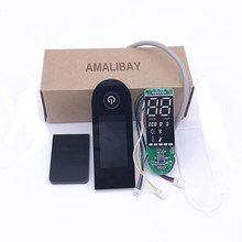 Dashboard for Xiaomi M365 Pro Scooter Circuit Board with Screen Cover for Xiaomi M365 Scooter Dashboard Speed Power Show Parts(China)